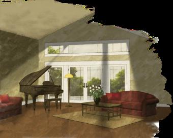 Brown dallimore interior design for Interior design images png